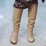 Обувь ручной работы. Ярмарка Мастеров - ручная работа летние перфорированные сапоги. Handmade.