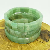 Украшения handmade. Livemaster - original item Bracelet made of natural green aventurine Forest. Handmade.
