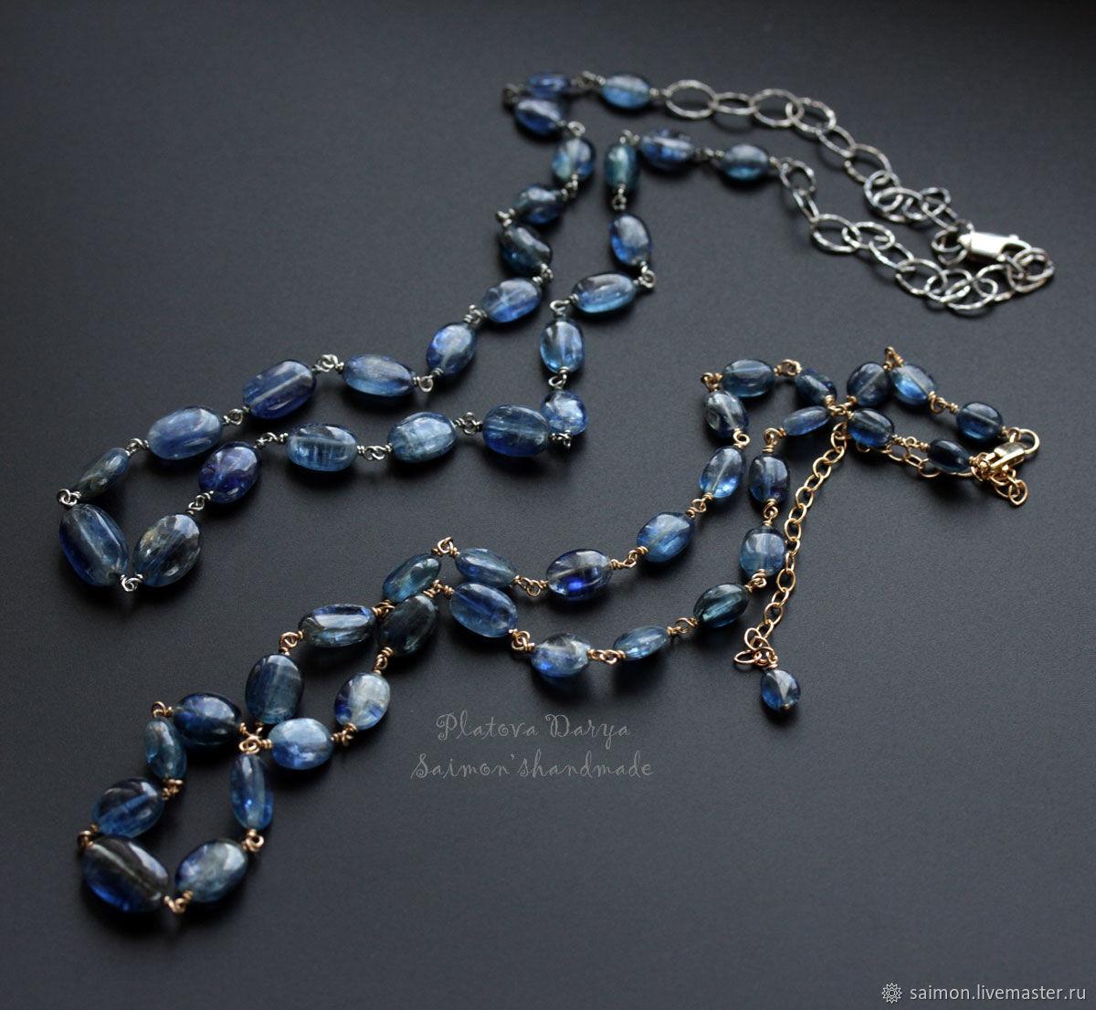 """Цепочка """"Kyanite chain"""", Цепочка, Москва,  Фото №1"""