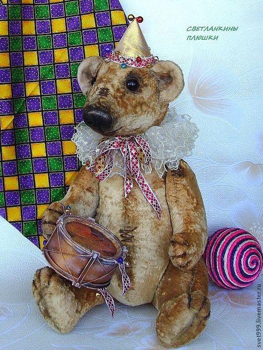 """Мишки Тедди ручной работы. Ярмарка Мастеров - ручная работа. Купить плюшевый мишка """"Бом-бом"""" Большой с ревуном:))). Handmade."""