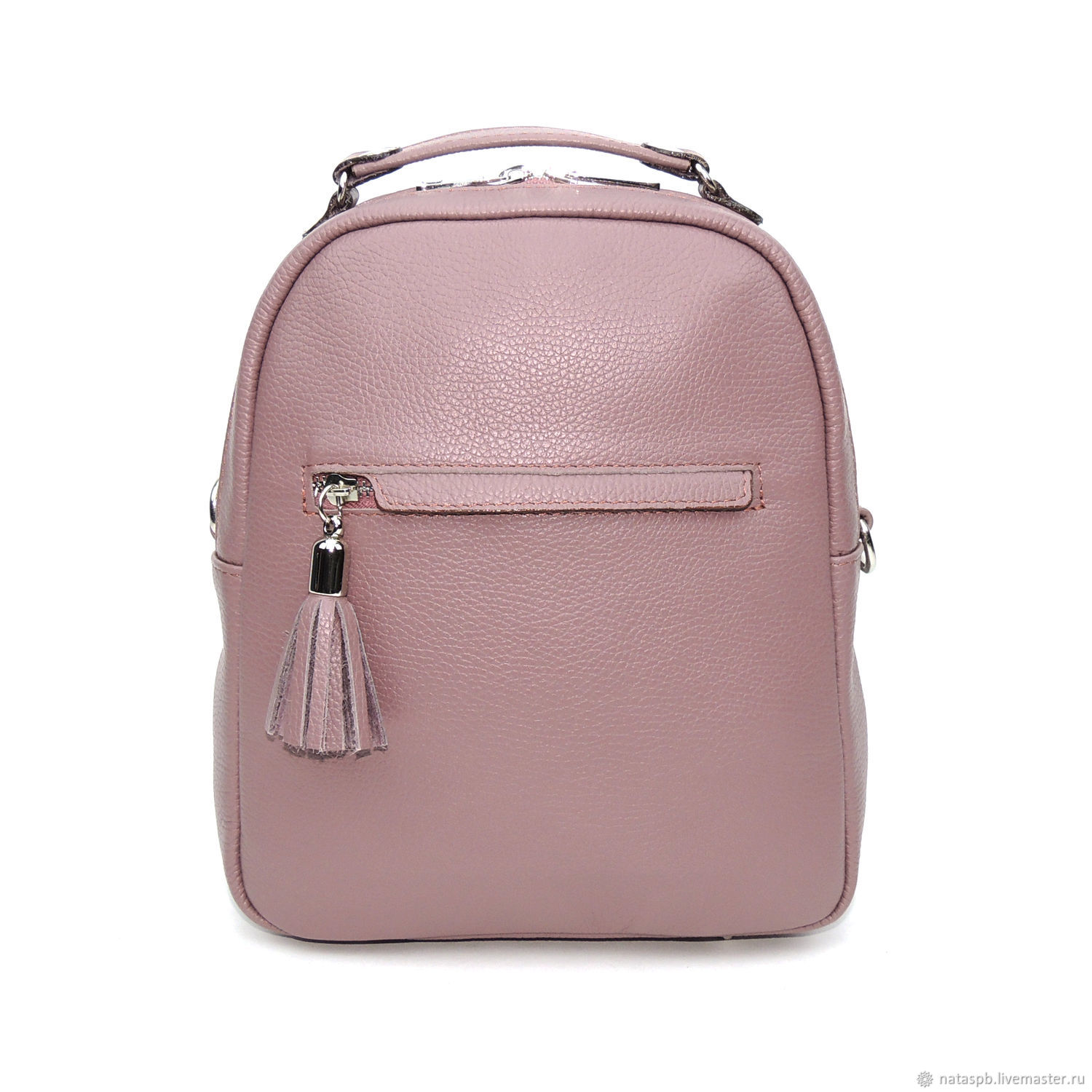 03ffaa9dea04 Backpack women s leather purple Ein – shop online on Livemaster with ...