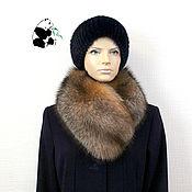 Аксессуары handmade. Livemaster - original item Fur collar Fox fur