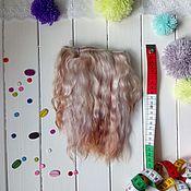 Куклы и игрушки ручной работы. Ярмарка Мастеров - ручная работа Натуральные козьи трессы(волосы) для кукол.. Handmade.