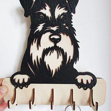 """Для дома и интерьера. Ярмарка Мастеров - ручная работа Ключница """"Любимый питомец"""" (собака). Handmade."""