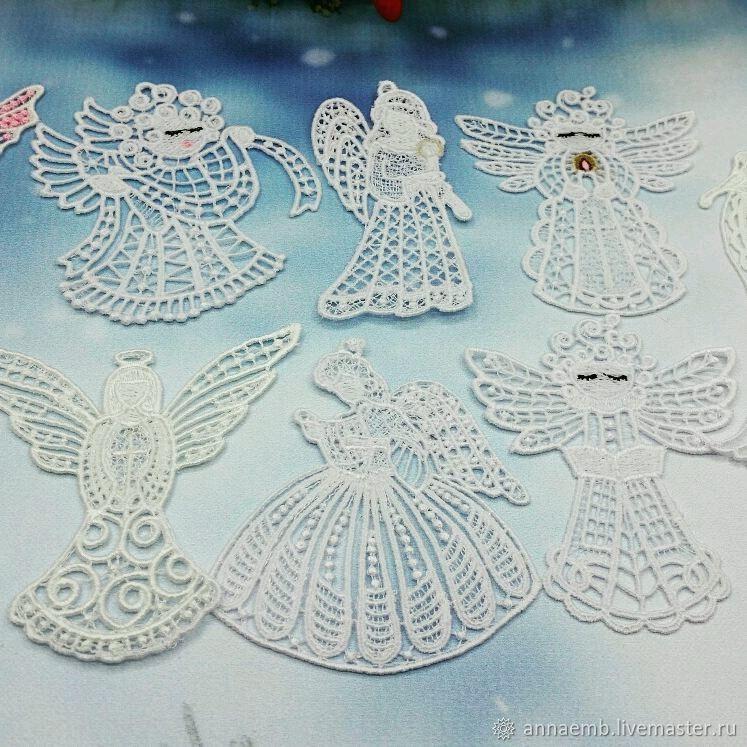 Рождественские ангелочки, Украшения, Чехов,  Фото №1