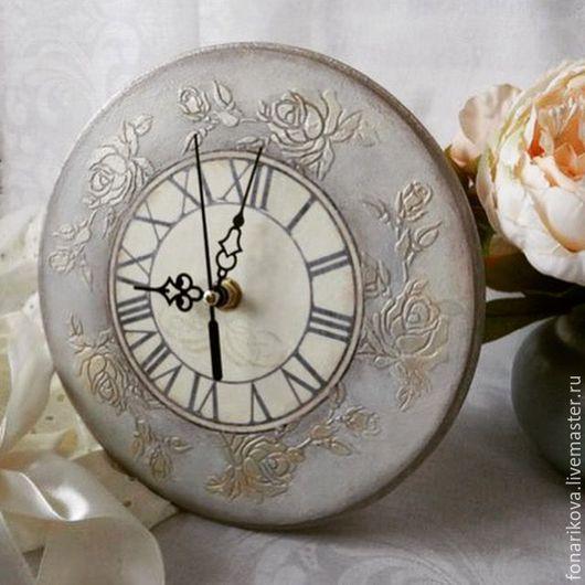 "Часы для дома ручной работы. Ярмарка Мастеров - ручная работа. Купить Часы настенные ""Tenderness"". Handmade. Часы, часы в подарок"