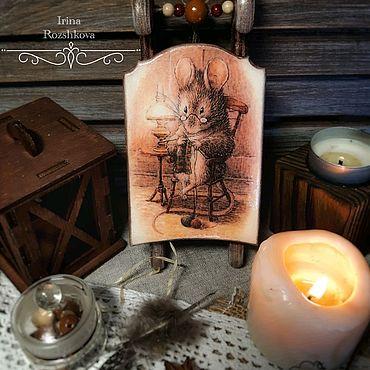 Для дома и интерьера ручной работы. Ярмарка Мастеров - ручная работа Декоративные саночки на елку. Handmade.