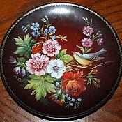 Винтаж handmade. Livemaster - original item Plates series