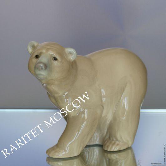 Винтажные предметы интерьера. Ярмарка Мастеров - ручная работа. Купить Медведь мишка фарфор LLADRO DAISA Испания 22. Handmade.