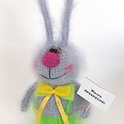 Куклы и игрушки ручной работы. Ярмарка Мастеров - ручная работа Заяц вязаный. Заяц Тимка. Handmade.
