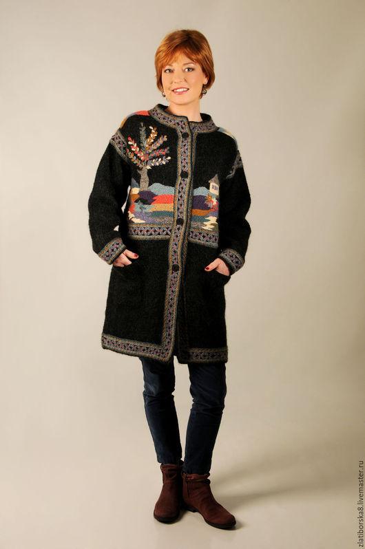 Sirogojno Style  пальто `Дерево жизни` 3358