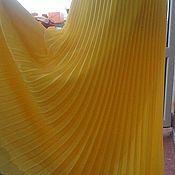 """Одежда ручной работы. Ярмарка Мастеров - ручная работа Юбка """"Limoncello"""" желтая гофре (плиссе) полусолнце. Handmade."""
