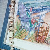 Картины и панно ручной работы. Ярмарка Мастеров - ручная работа Прилив. Handmade.