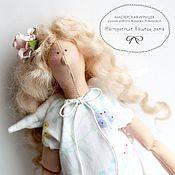 Куклы и игрушки ручной работы. Ярмарка Мастеров - ручная работа Ангел в стиле Тильда с сердцем. Handmade.