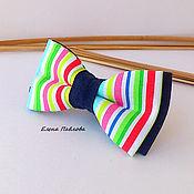 Аксессуары handmade. Livemaster - original item tie, stripe, rainbow. Handmade.