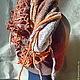 """Шапки ручной работы. Валяная шапка """"Сокровища красной земли"""". Ольга Горелова. Ярмарка Мастеров. Войлочная шапка, шапочка"""