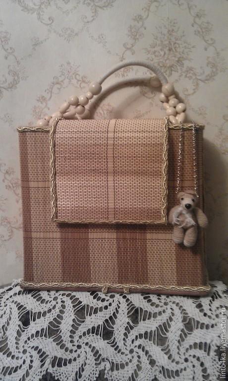 Женские сумки ручной работы. Ярмарка Мастеров - ручная работа. Купить Сумка  летняя