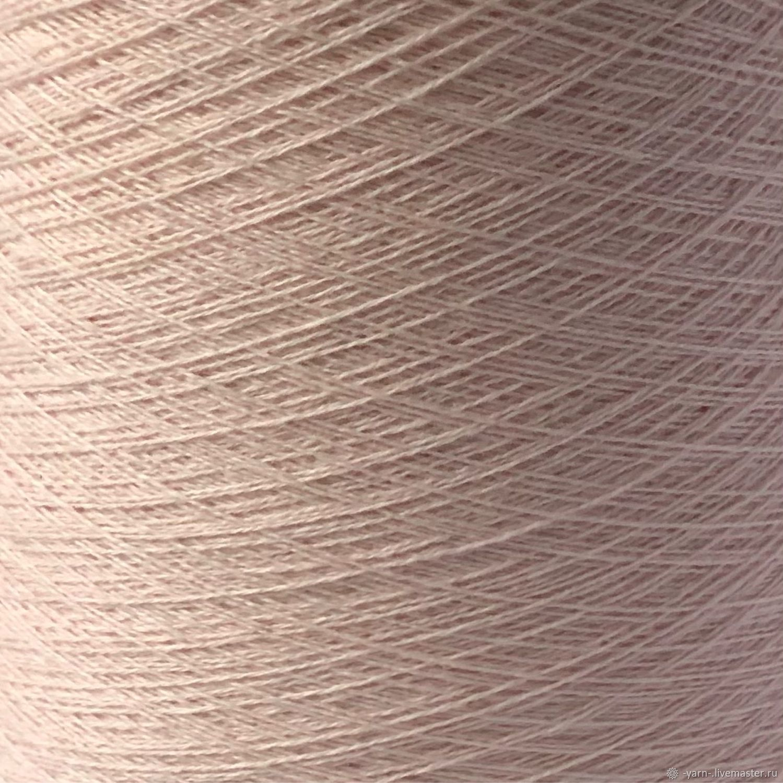 Пряжа Кашемир 2/28 розовый крем – купить на Ярмарке Мастеров – N7E48RU | Пряжа, Санкт-Петербург