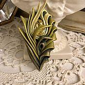 Украшения handmade. Livemaster - original item Brooch from the STONE FLOWER series. Handmade.