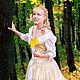 Платье `Анжелика`, исторический костюм, бальное платье. Индивидуальный пошив платьев. Флана