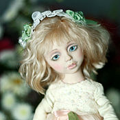 Куклы и игрушки ручной работы. Ярмарка Мастеров - ручная работа Подвижная кукла Лиза. Handmade.