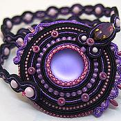 Украшения handmade. Livemaster - original item Bracelet of textile: Bracelet winding. Handmade.