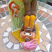Для дома и интерьера ручной работы. Ярмарка Мастеров - ручная работа Фотограф- аквалангист с осьминогом. Handmade.