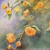 Картины и панно ручной работы. Ярмарка Мастеров - ручная работа Золото весны.Картина пастелью. Handmade.