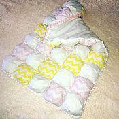 Для дома и интерьера ручной работы. Ярмарка Мастеров - ручная работа Одеяло бомбон bombon. Handmade.