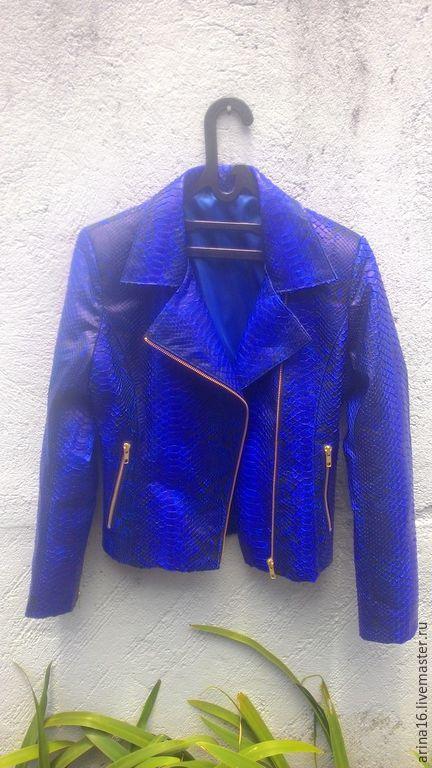 Верхняя одежда ручной работы. Ярмарка Мастеров - ручная работа. Купить Куртка- косуха. Handmade. Тёмно-синий, куртка косуха