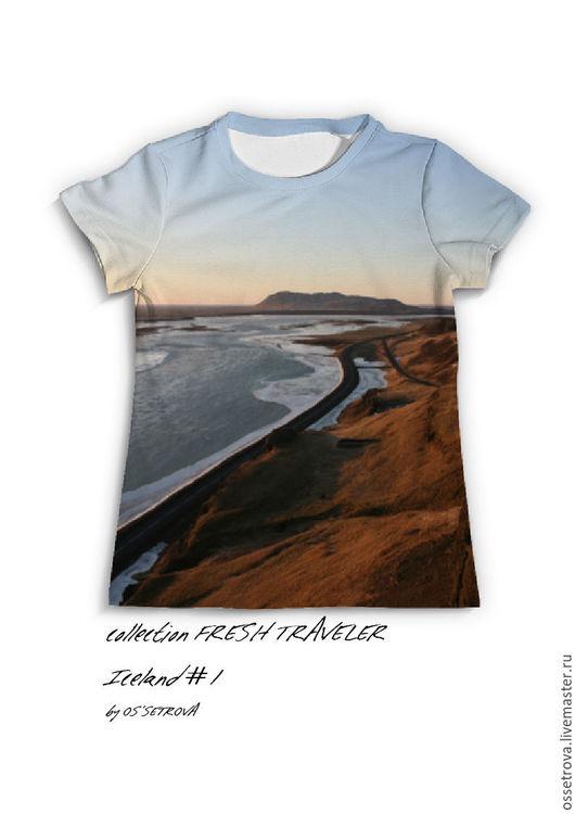 Коллекция футболок ` FRESH TRAVELER` серия Исландия
