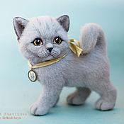 Куклы и игрушки ручной работы. Ярмарка Мастеров - ручная работа Британский котенок  Марта. Handmade.