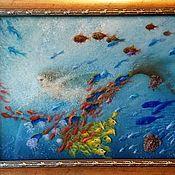 Картины и панно handmade. Livemaster - original item Copyright 3D picture of the Flying Mermaids.. Handmade.
