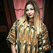 Одежда ручной работы. Ярмарка Мастеров - ручная работа Меховой свитер. Handmade.