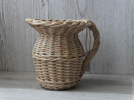 Кухня ручной работы. Ярмарка Мастеров - ручная работа. Купить кувшин плетеный Утро в Провансе. Handmade. Бежевый, прованс, лаванда
