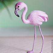 Куклы и игрушки ручной работы. Ярмарка Мастеров - ручная работа Фламинго. Handmade.