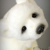 Куклы и игрушки ручной работы. Ярмарка Мастеров - ручная работа Умка... полярный медвежонок. Handmade.