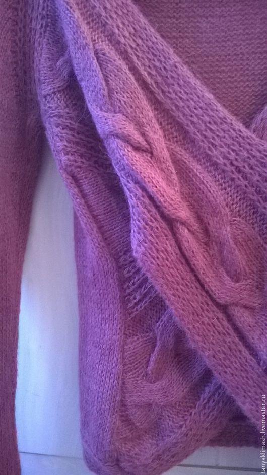 Кофты и свитера ручной работы. Ярмарка Мастеров - ручная работа. Купить джемпер. Handmade. Однотонный, стиль, балеро
