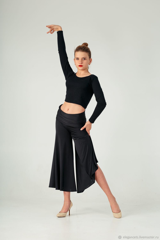 03962b6b45d Танцевальные костюмы ручной работы. Ярмарка Мастеров - ручная работа. Купить  Тренировочные брюки для бальных ...