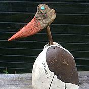 Для дома и интерьера ручной работы. Ярмарка Мастеров - ручная работа Птица-качалка 1. Handmade.