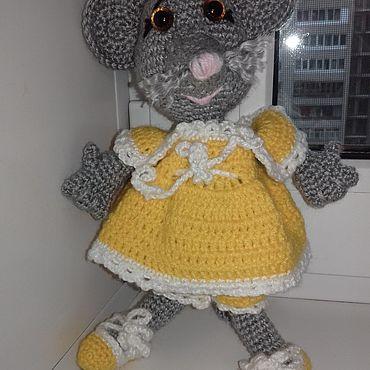 Куклы и игрушки ручной работы. Ярмарка Мастеров - ручная работа Игрушки:Мышка. Handmade.