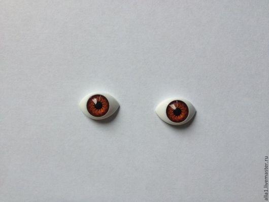 Куклы и игрушки ручной работы. Ярмарка Мастеров - ручная работа. Купить Глаза рыбки для кукол. Handmade. Голубой, Глаза, акрил