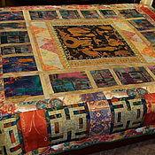Для дома и интерьера ручной работы. Ярмарка Мастеров - ручная работа Покрывало   Золотой Египет. Handmade.