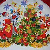 """Статуэтка ручной работы. Ярмарка Мастеров - ручная работа Юбка под елку""""В ожидании Праздника"""". Handmade."""