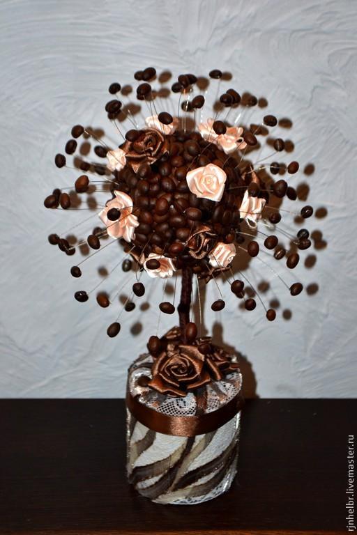 Топиарий Кофейные штучки подарок для любителей кофе, Топиарии, Всеволожск,  Фото №1