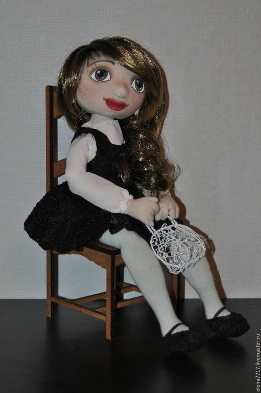 Коллекционные куклы ручной работы. Ярмарка Мастеров - ручная работа. Купить Ирина. Handmade. Комбинированный, черный цвет, хлопок