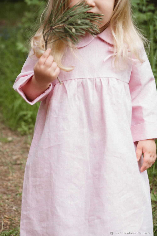 Платья ручной работы. Ярмарка Мастеров - ручная работа. Купить Платье 'Маранта'. Handmade. Лен, льняное платье летнее