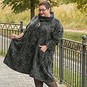 Одежда ручной работы. Ярмарка Мастеров - ручная работа Платье туника из итальянской шерсти и аладинки. Handmade.