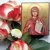Картины и панно handmade. Livemaster - original item Natalia is a Holy Martyr.Name icon. Handmade.