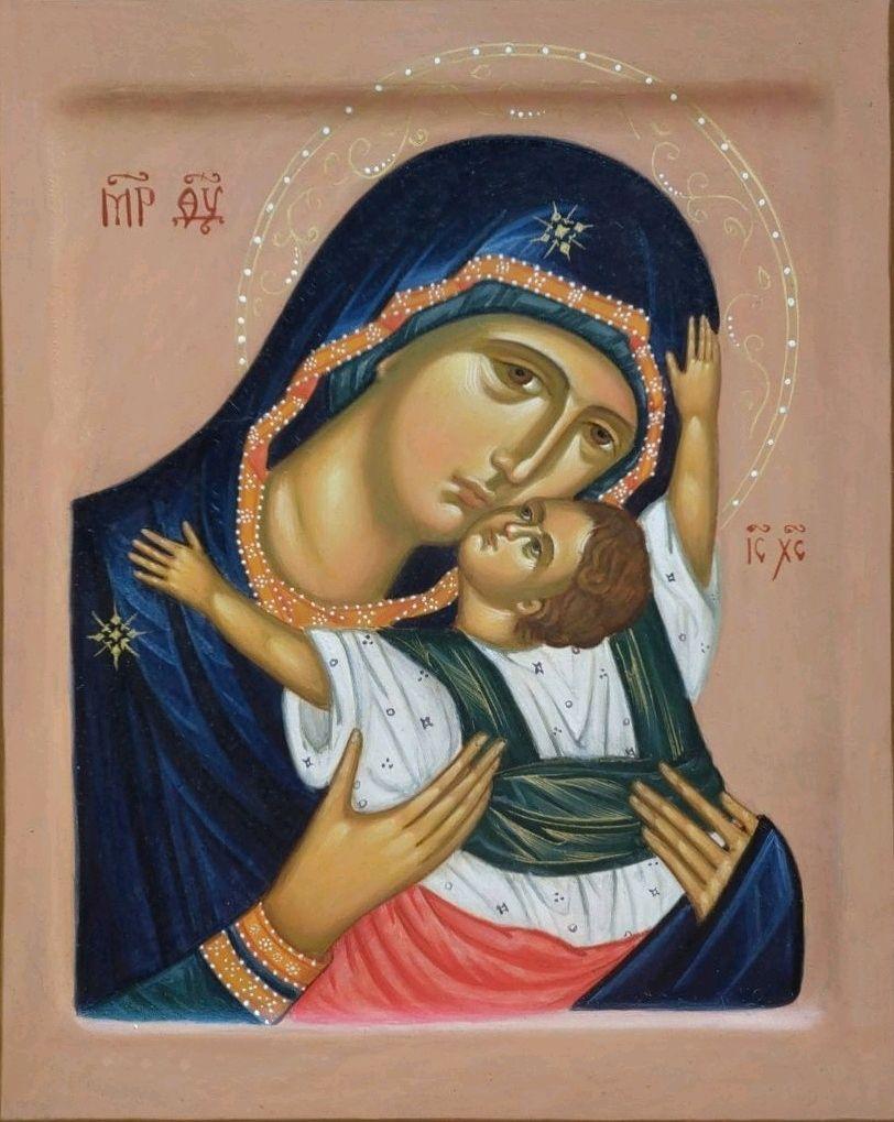 Икона Богородицы Кардиотисса (Сердечная), Иконы, Москва,  Фото №1